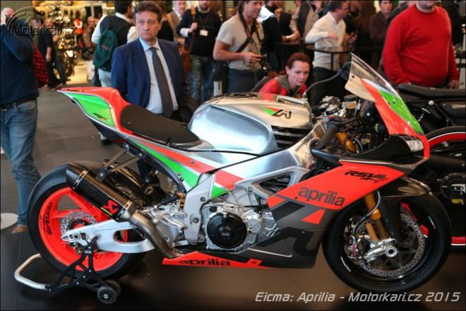 Nová Moto Guzzi V9, V7 II Stornello a Aprilia RSV4 R-FW