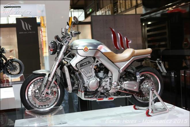 Horex pøedstavil VR6 Silver Edition