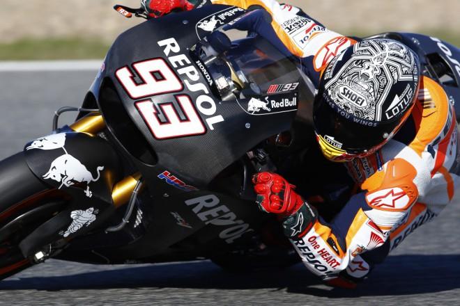 V Jerezu testují oba tovární jezdci Repsol Hondy
