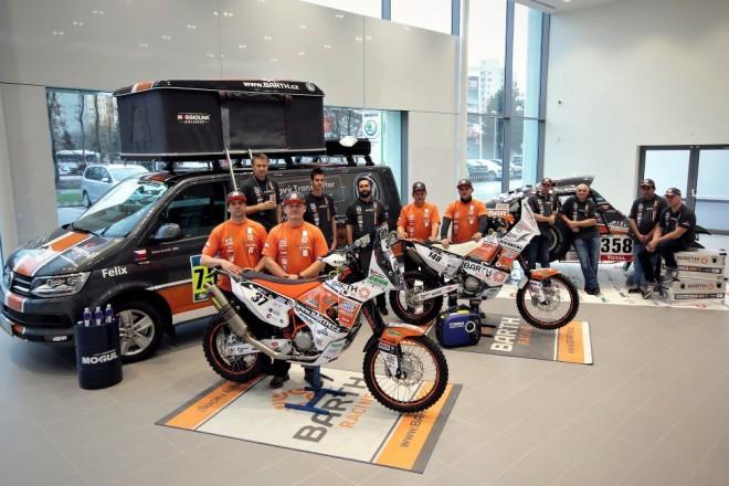 Barth Racing pøedstavil sestavu pro Dakar 2016