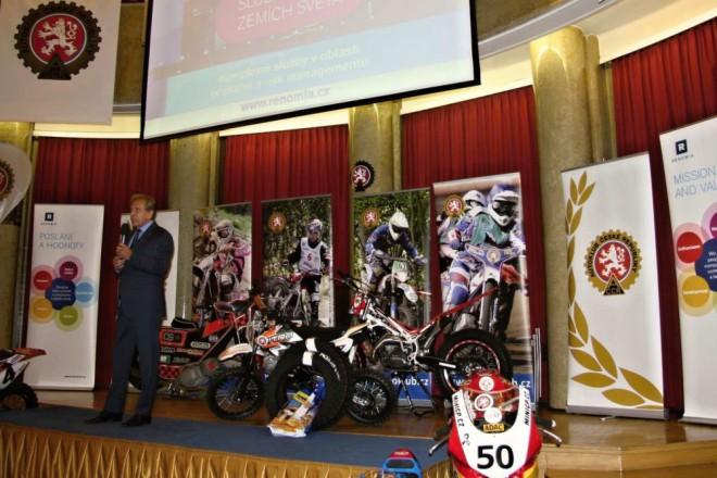Vyhlášení mistrù ÈR v motocyklovém sportu 2015