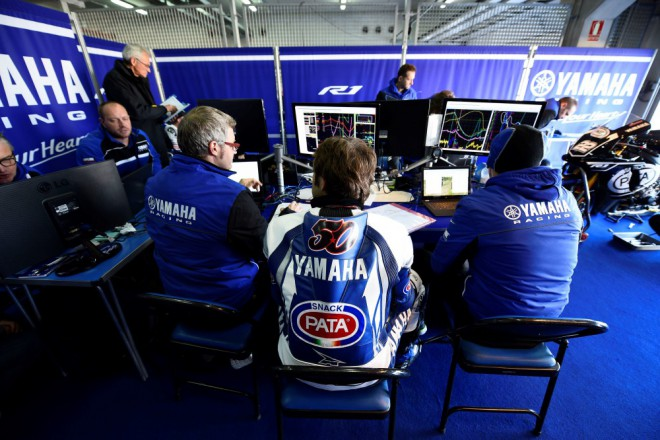 Pata Crescent Yamaha testy dokonèila jen s jedním jezdcem