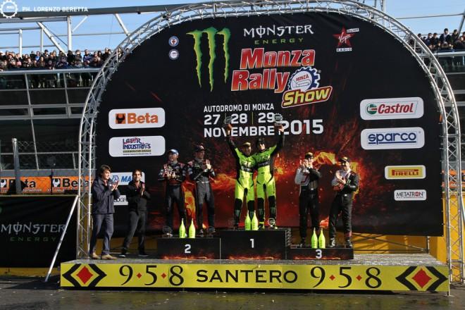 V Monza Rally kraloval poètvrté Rossi
