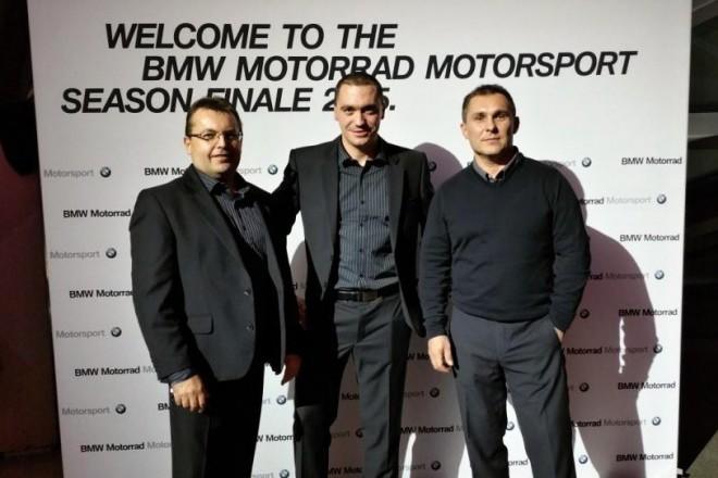 Michal Prášek úspìšný v BMW Motorrad Race Trophy 2015