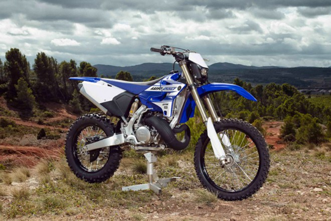 Yamaha WR250 - vol�n� po dvoutaktu vysly�eno