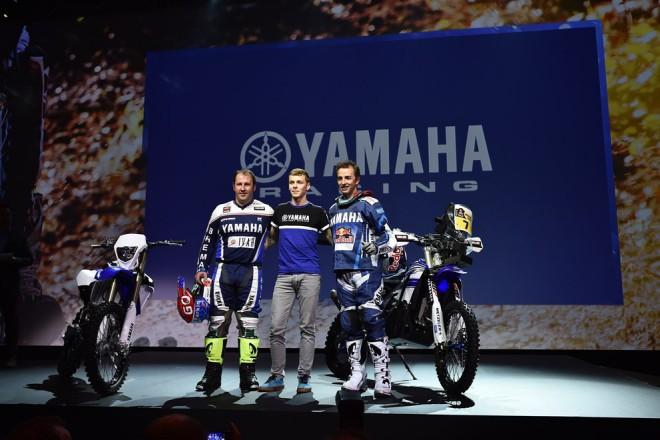 Yamaha nasadí na Dakaru duo Rodrigues - Botturi
