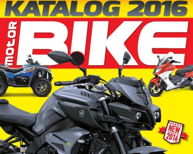 Motorbike Katalog motocyklù, skútrù a ètyøkolek 2016