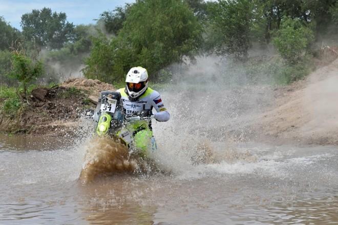 Druhá etapa Dakaru pro Price, Klymèiw 23.