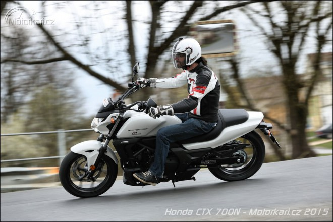 Honda CTX 700N: bezstarostn� j�zda
