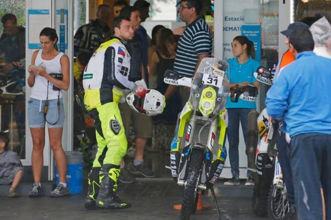 Ohlasy èeských jezdcù po 3. etapì Dakaru