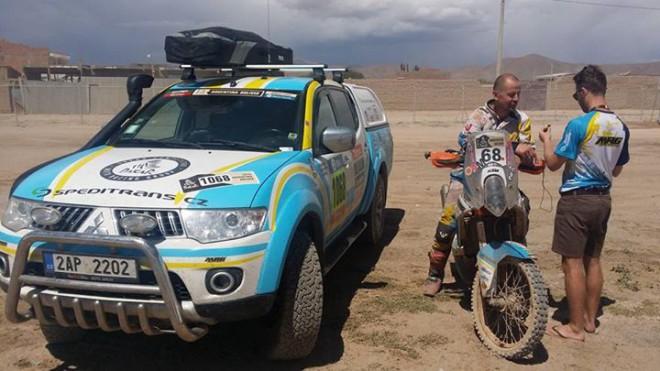 Jezdci èeského týmu MRG: Zaèal ten pravý Dakar!