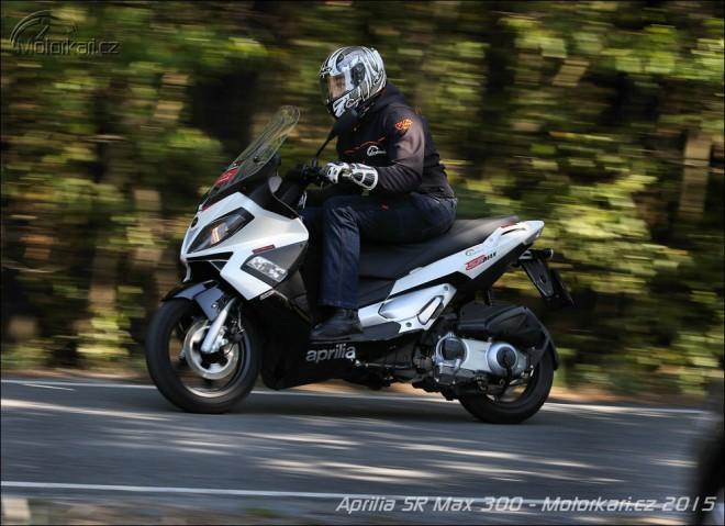 Aprilia SR Max 300: nest�rnouc� rychl�k