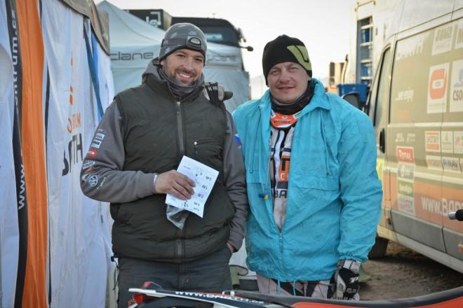 Barth Racing: Vadný zpìtný ventil a bolivijský prezident
