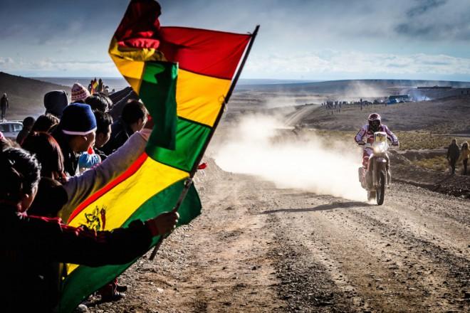 Sedm etap Dakaru v obrazech