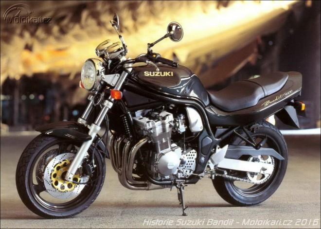 Motocykly Suzuki øady Bandit 1989 - 2015