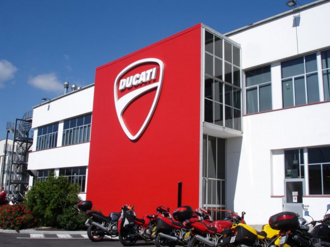 Ducati hl�s� rekordn� rok v oblasti prodej�