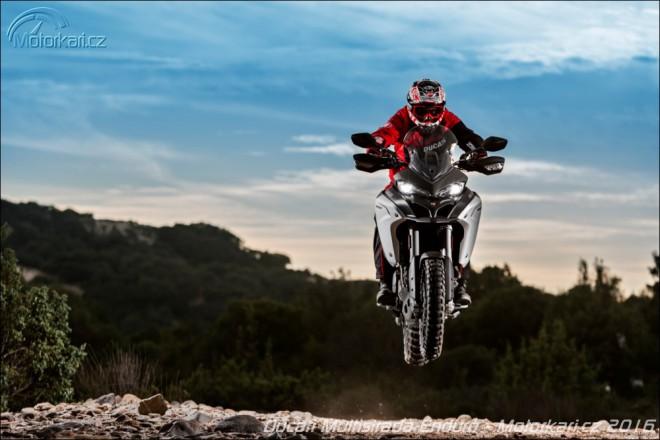 Multistrada Enduro: Ducati ukazuje divokou tváø
