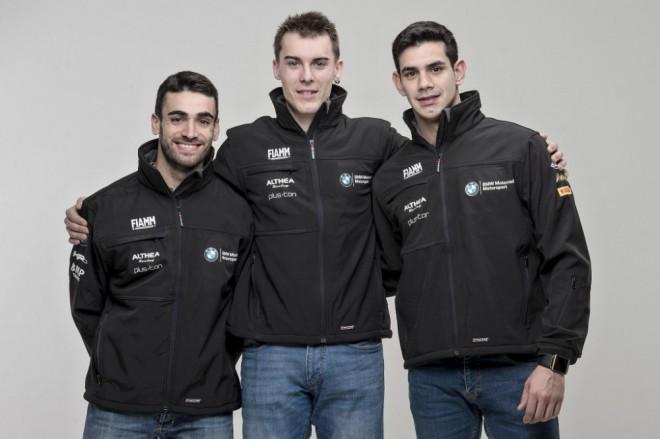 Tým Althea BMW Racing v sestavì pro sezonu 2016