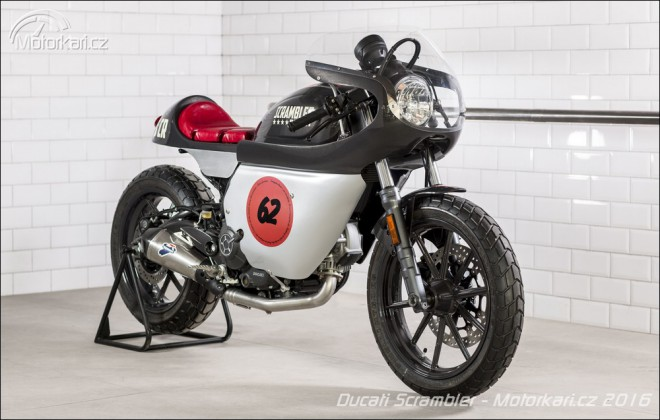 Ducati 2016: koncept draXter a 3 upravené Scramblery