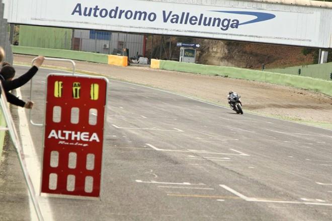 Jezdci Althea Racing testovali v deseti stupn�ch