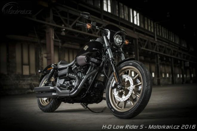 H-D novinky 2016: Low Rider S a CVO Pro Street Breakout