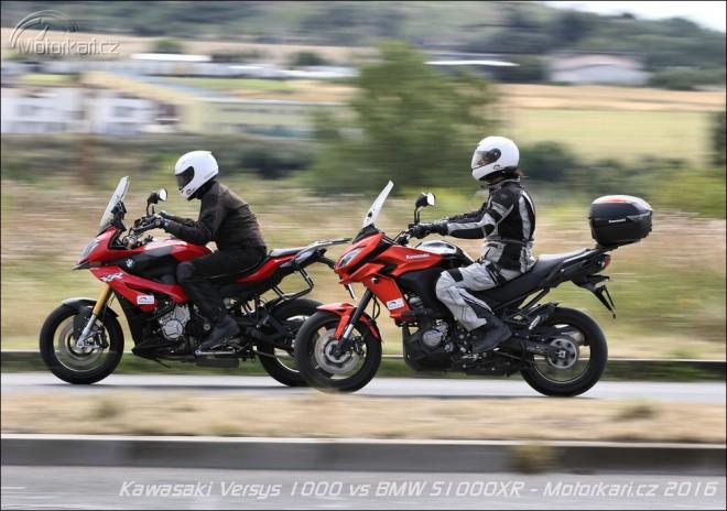 Kawasaki Versys 1000 vs BMW S 1000 XR: duel osmi válcù