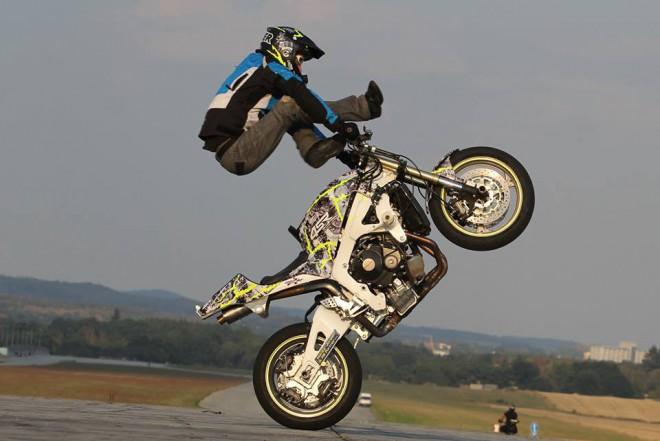 Stuntrider Mirek �Spor��k� Frey