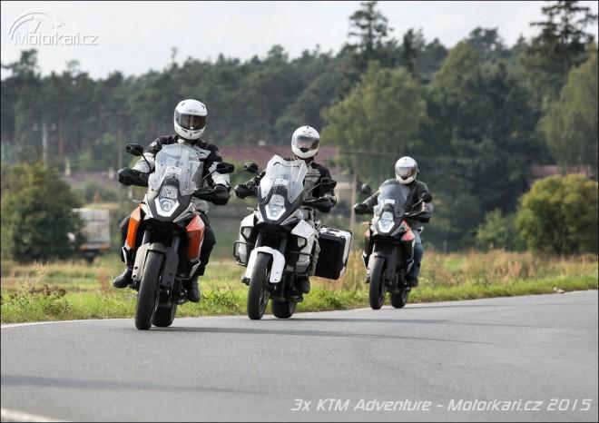 KTM Adventure 3 x jinak: 1050 vs 1190 vs 1290