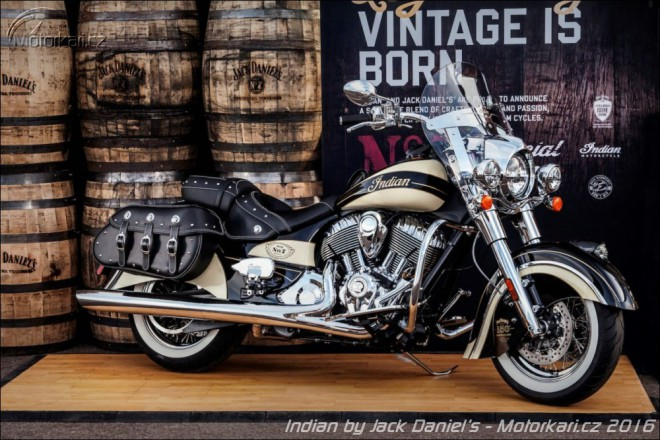 Indian & Jack Daniel´s: dvì legendy v limitované edici