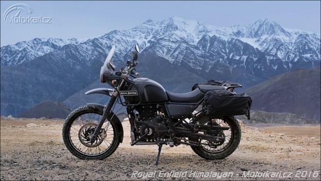 Royal Enfield Himalayan oficiálnì pøedstaven