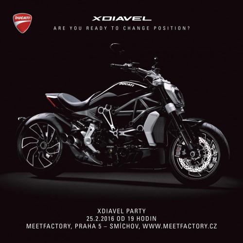 Ducati zve na XDiavel Party