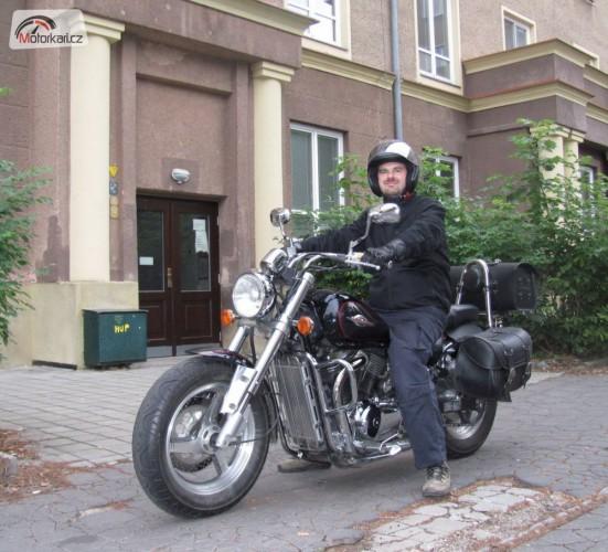 Moje cesta domù aneb Jak jsem se stal motorkáøem