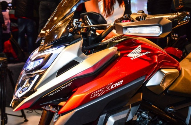 Honda po indicku: Concept CX-02 a Navi