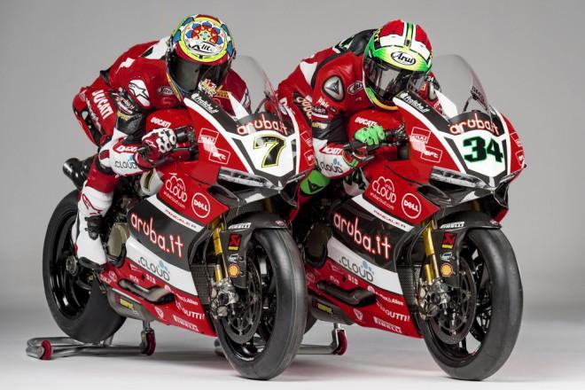 Tým Aruba.it Racing – Ducati pøedstavil sestavu 2016