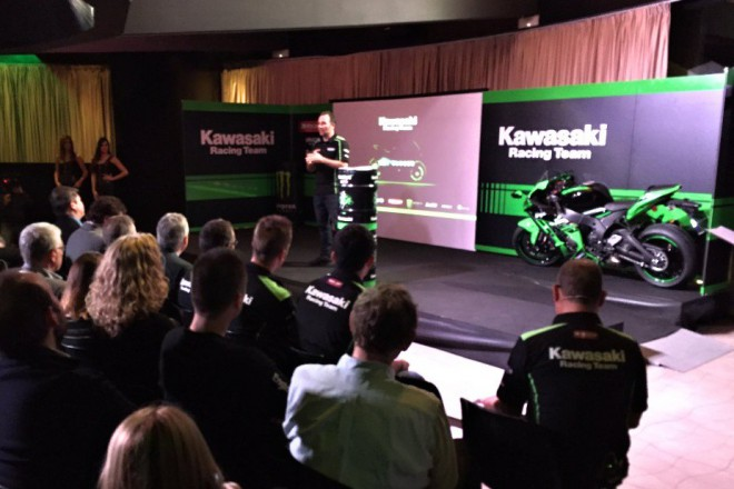 Video - Prezentace týmu Kawasaki Racing