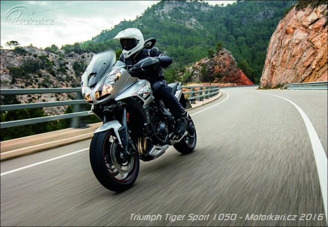 Triumph modernizuje Tiger 1050 Sport. Speed Triple i Street Twin už jsou v prodeji