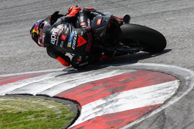 Aprilia vyzkoušela v Aragonii nový prototyp MotoGP