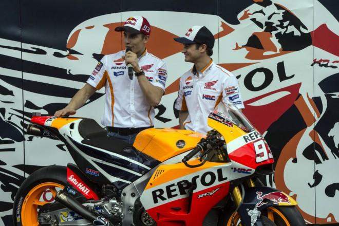 V Indonésii pøedstavila Repsol Honda novou RC213V
