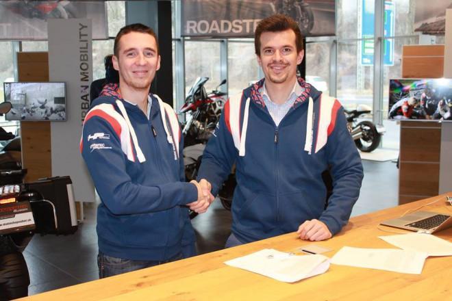 Tomáš Svitok podepsal s týmem Extéria BMW