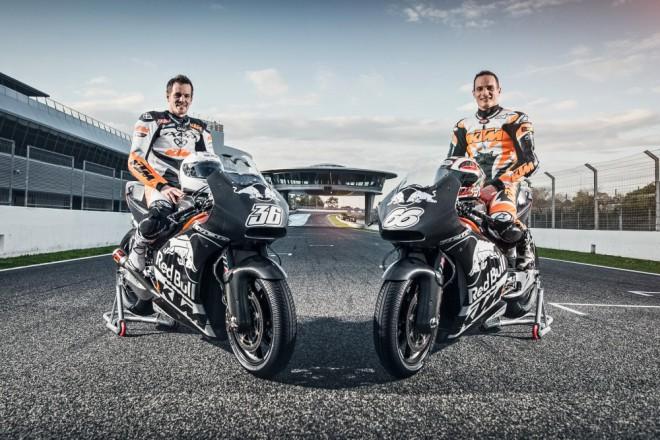 Prvn� test roku pro KTM RC16 MotoGP