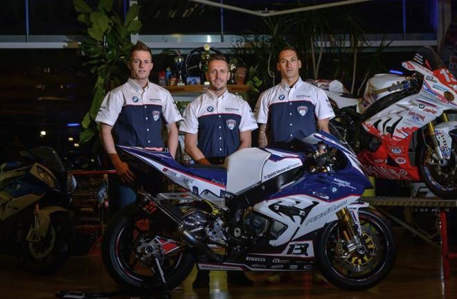 Pešek je souèástí týmu Penz13.com BMW Motorrad