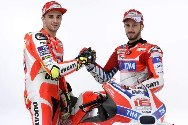 Obrazem: Italsk� Ducati ofici�ln� p�edstavila t�m MotoGP