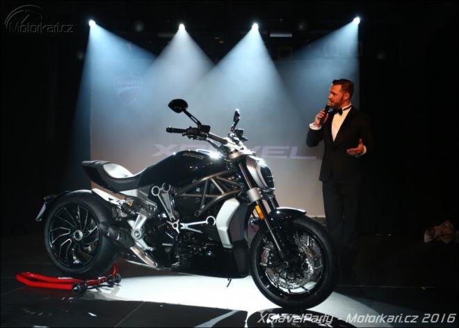 Ducatisti p�iv�tali XDiavel na p�rty