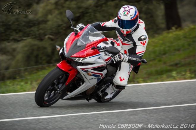 Honda CBR500R a CB500F 2016: první jízda