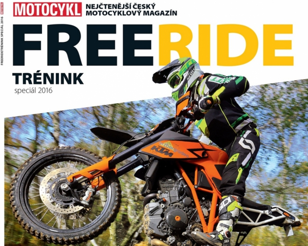 Motocykl Freeridetr�nink 2016