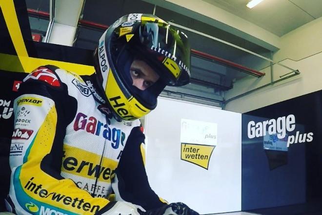 V Jerezu zajel první den nejrychleji Lüthi