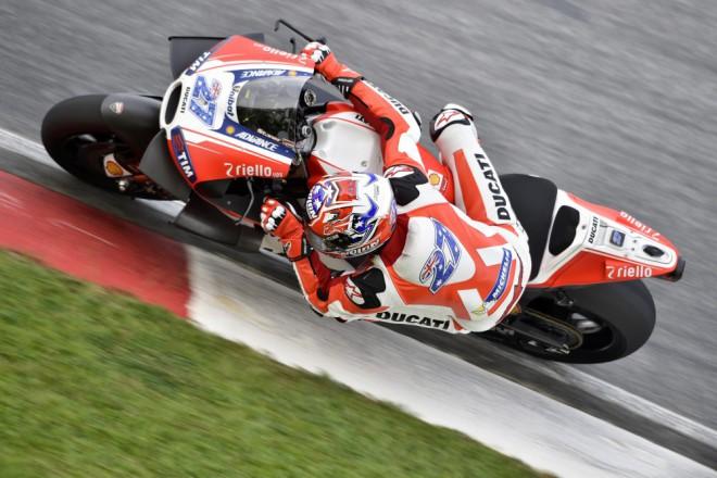 Test s Casey Stonerem Ducati zru�ila