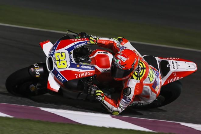Další progres Iannone oèekává po trénincích na katarskou GP