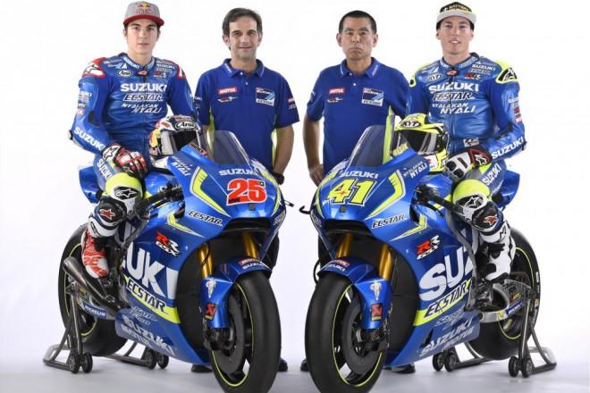 Obrazem: Suzuki MotoGP 2016