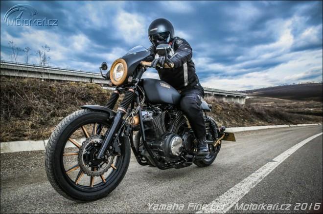 Fine Cut: Yamaha XV950 z rumunské dílny